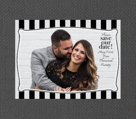 Vintage Tuxedo Save the Date