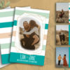 mint wedding invitation