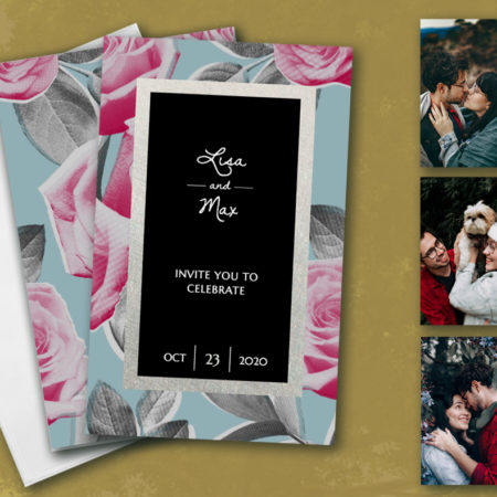 Wild Roses Hitchbook (Booklet Invitation)