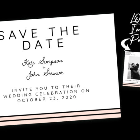 Blushing Bride Save the Date