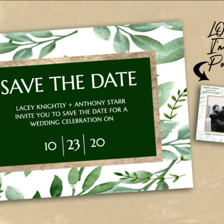 Greenhouse Save the Date
