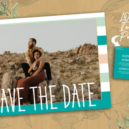 Mint to Be Save the Date