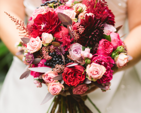 What Your Wedding Flowers Say About You